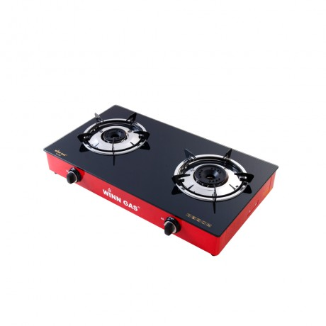 Glass Gas Stove W388 Red