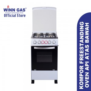 Free Standing Gas Stove + Oven W5060A ( ambil sendiri )