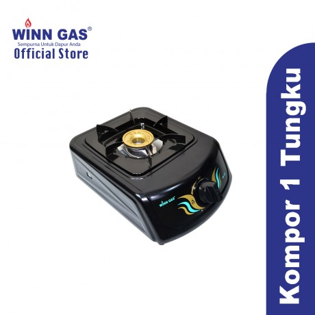Winn Gas Stove W133 - BLACK