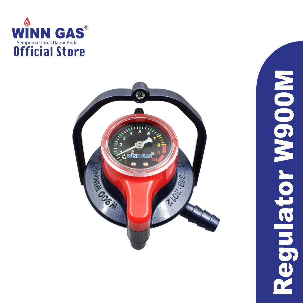 Gas Regulator Double Lock W900M