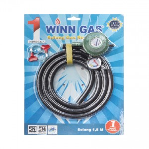 BLACK HOSE REGULATOR PACKET W-182 M GREEN PEARL