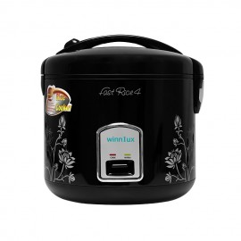 Winnlux Rice Cooker AP-RB208B Black 1 Liter